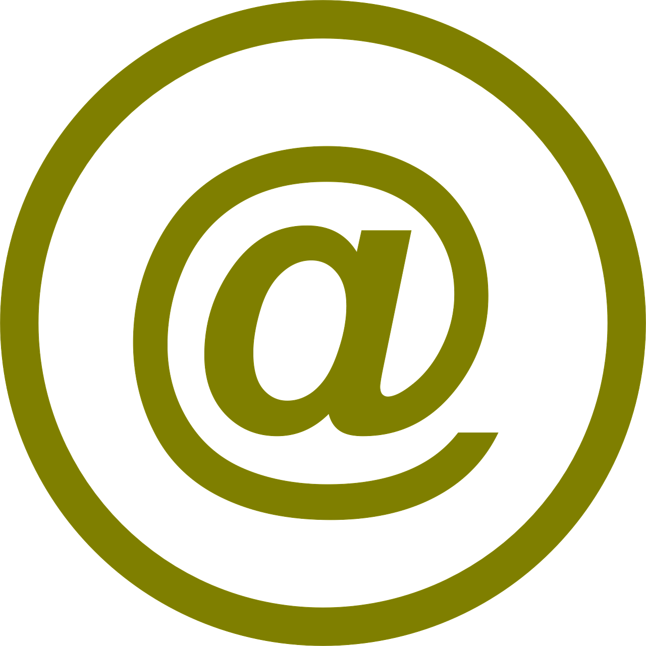 symbol, email, at